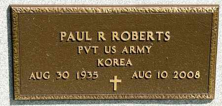 ROBERTS, PAUL R - Richland County, Ohio | PAUL R ROBERTS - Ohio Gravestone Photos