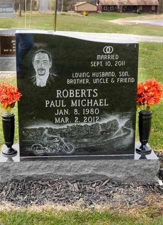 ROBERTS, PAUL MICHAEL - Richland County, Ohio | PAUL MICHAEL ROBERTS - Ohio Gravestone Photos