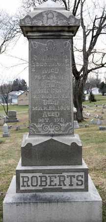 ROBERTS, RICHARD - Richland County, Ohio | RICHARD ROBERTS - Ohio Gravestone Photos