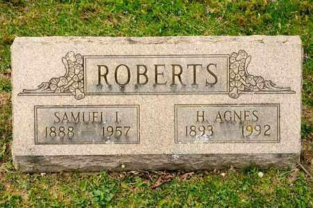 ROBERTS, SAMUEL I - Richland County, Ohio | SAMUEL I ROBERTS - Ohio Gravestone Photos