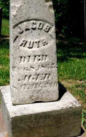 RUTH, JACOB - Richland County, Ohio   JACOB RUTH - Ohio Gravestone Photos