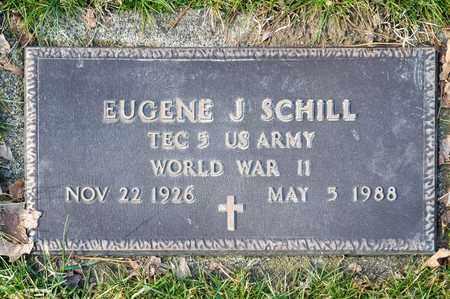 SCHILL, EUGENE J - Richland County, Ohio   EUGENE J SCHILL - Ohio Gravestone Photos