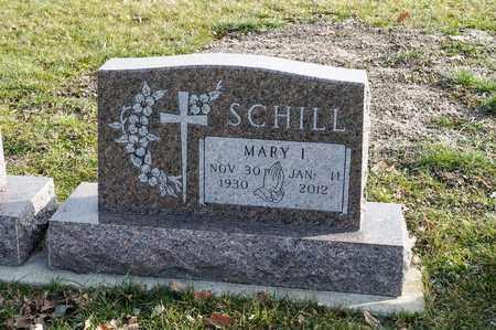 SCHILL, MARY I - Richland County, Ohio | MARY I SCHILL - Ohio Gravestone Photos