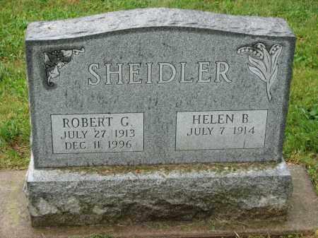 SHEIDLER, HELEN B. - Richland County, Ohio   HELEN B. SHEIDLER - Ohio Gravestone Photos