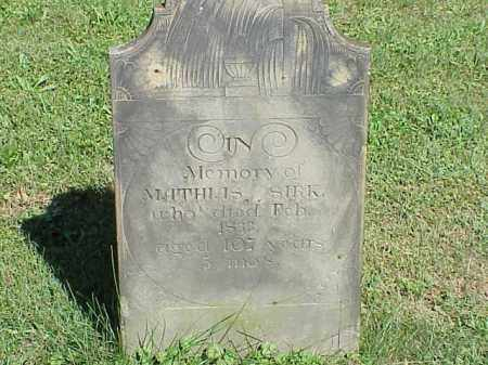 SIRK, MATHIAS - Richland County, Ohio | MATHIAS SIRK - Ohio Gravestone Photos
