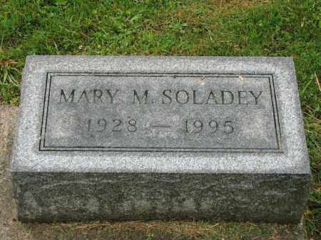 SOLADEY, MARY M. - Richland County, Ohio | MARY M. SOLADEY - Ohio Gravestone Photos