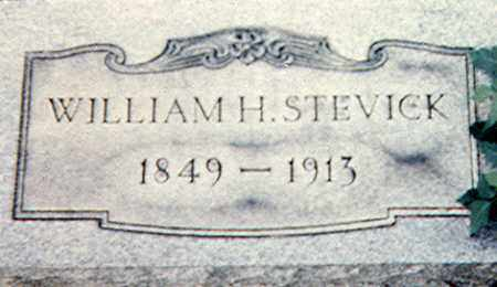 STEVICK, WILLIAM H. - Richland County, Ohio | WILLIAM H. STEVICK - Ohio Gravestone Photos
