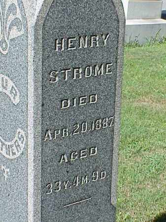 STROME, HENRY - Richland County, Ohio | HENRY STROME - Ohio Gravestone Photos