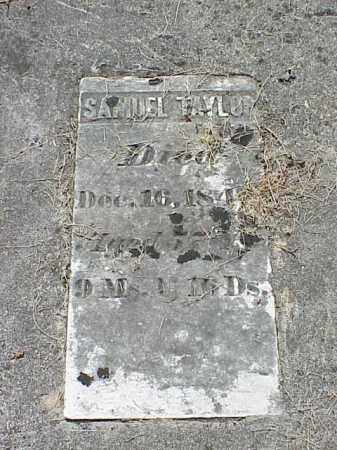 TAYLOR, SAMUEL - Richland County, Ohio | SAMUEL TAYLOR - Ohio Gravestone Photos
