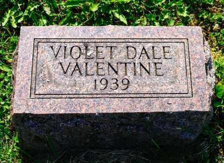 VALENTINE, VIOLET DALE - Richland County, Ohio | VIOLET DALE VALENTINE - Ohio Gravestone Photos