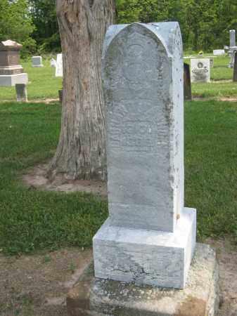 VANHORN, BARNARD - Richland County, Ohio   BARNARD VANHORN - Ohio Gravestone Photos