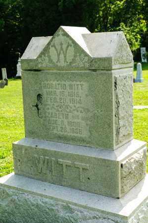 WITT, ELIZABETH - Richland County, Ohio   ELIZABETH WITT - Ohio Gravestone Photos