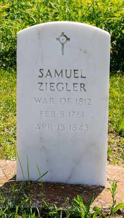 ZIEGLER, SAMUEL - Richland County, Ohio | SAMUEL ZIEGLER - Ohio Gravestone Photos