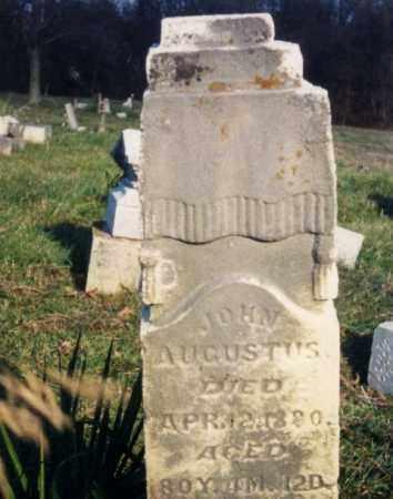AUGUSTUS, JOHN - Ross County, Ohio | JOHN AUGUSTUS - Ohio Gravestone Photos