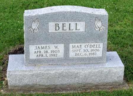 O'DELL BELL, MAE - Ross County, Ohio | MAE O'DELL BELL - Ohio Gravestone Photos