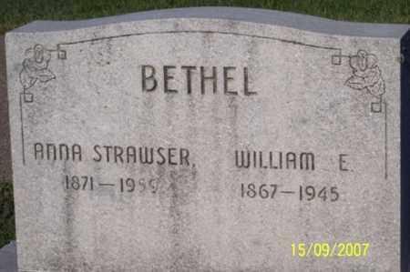 BETHEL, WILLIAM E. - Ross County, Ohio | WILLIAM E. BETHEL - Ohio Gravestone Photos