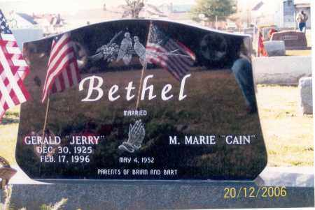 BETHEL, GERALD - Ross County, Ohio | GERALD BETHEL - Ohio Gravestone Photos
