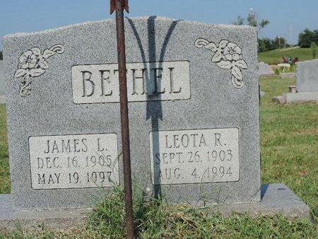 BETHEL, JAMES L - Ross County, Ohio   JAMES L BETHEL - Ohio Gravestone Photos