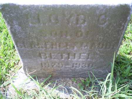 BETHEL, LLOYD C. - Ross County, Ohio | LLOYD C. BETHEL - Ohio Gravestone Photos