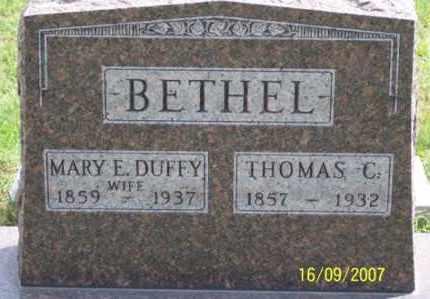 BETHEL, THOMAS C. - Ross County, Ohio | THOMAS C. BETHEL - Ohio Gravestone Photos