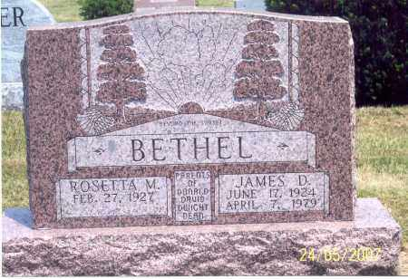 BETHEL, ROSETTA M. - Ross County, Ohio | ROSETTA M. BETHEL - Ohio Gravestone Photos