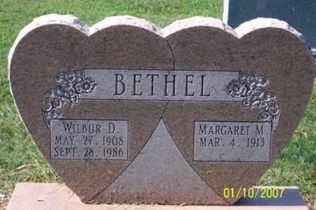 BETHEL, WILBUR D. - Ross County, Ohio   WILBUR D. BETHEL - Ohio Gravestone Photos
