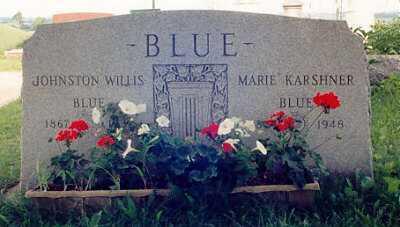 KARSHNER BLUE, MARIE - Ross County, Ohio | MARIE KARSHNER BLUE - Ohio Gravestone Photos
