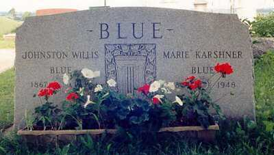 BLUE, MARIE - Ross County, Ohio | MARIE BLUE - Ohio Gravestone Photos