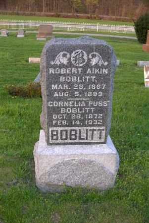BOBLITT, ROBERT AIKIN - Ross County, Ohio | ROBERT AIKIN BOBLITT - Ohio Gravestone Photos