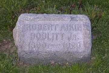 BOBLITT, ROBERT AIKIN JR. - Ross County, Ohio | ROBERT AIKIN JR. BOBLITT - Ohio Gravestone Photos