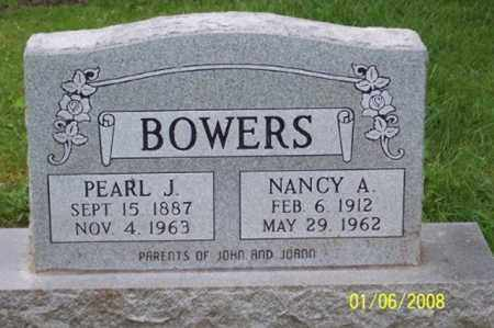 BOWERS, NANCY A. - Ross County, Ohio | NANCY A. BOWERS - Ohio Gravestone Photos