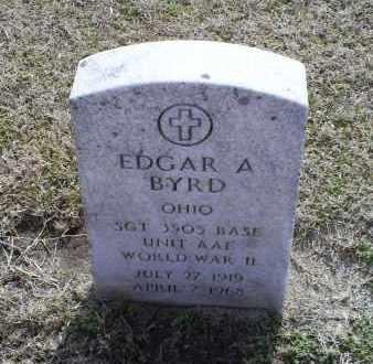 BYRD, EDGAR A. - Ross County, Ohio   EDGAR A. BYRD - Ohio Gravestone Photos