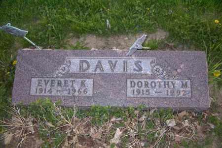 DAVIS, EVERET K. - Ross County, Ohio | EVERET K. DAVIS - Ohio Gravestone Photos