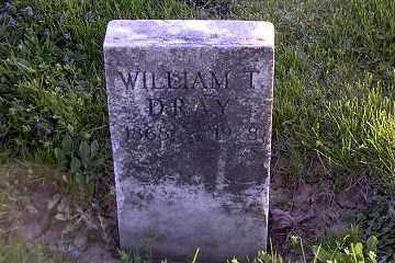 DRAY, WILLIAM TECUMSEH - Ross County, Ohio   WILLIAM TECUMSEH DRAY - Ohio Gravestone Photos