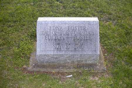 FOSTER, EDNA - Ross County, Ohio | EDNA FOSTER - Ohio Gravestone Photos