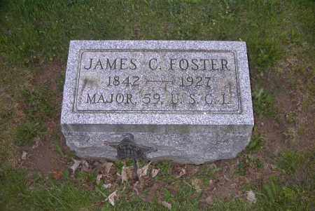 FOSTER, JAMES C. - Ross County, Ohio | JAMES C. FOSTER - Ohio Gravestone Photos