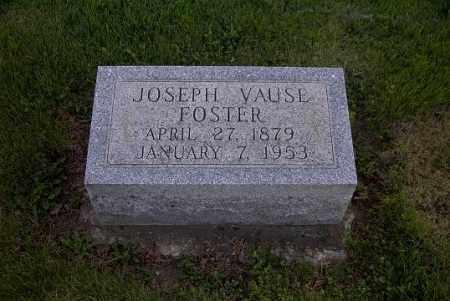 FOSTER, JOSEPH VAUSE - Ross County, Ohio | JOSEPH VAUSE FOSTER - Ohio Gravestone Photos
