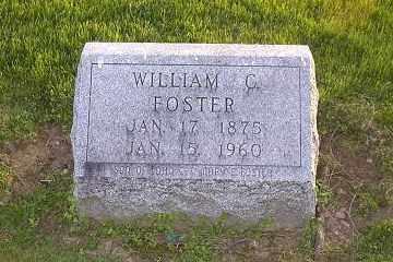 FOSTER, WILLIAM C. - Ross County, Ohio | WILLIAM C. FOSTER - Ohio Gravestone Photos