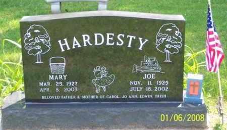 HARDESTY, JOE - Ross County, Ohio | JOE HARDESTY - Ohio Gravestone Photos
