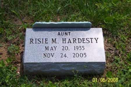 HARDESTY, RISIE M. - Ross County, Ohio | RISIE M. HARDESTY - Ohio Gravestone Photos