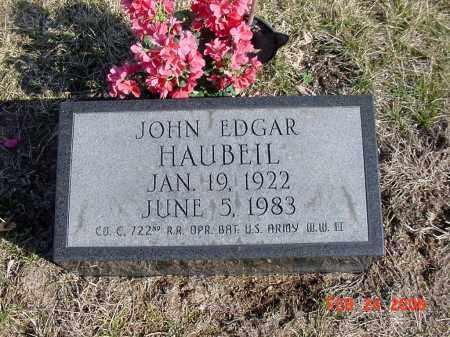 HAUBEIL, JOHN - Ross County, Ohio | JOHN HAUBEIL - Ohio Gravestone Photos
