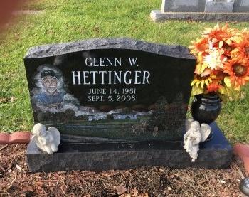 HETTINGER, GLENN - Ross County, Ohio   GLENN HETTINGER - Ohio Gravestone Photos