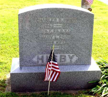 CROW HIGBY, MARY L. - Ross County, Ohio | MARY L. CROW HIGBY - Ohio Gravestone Photos