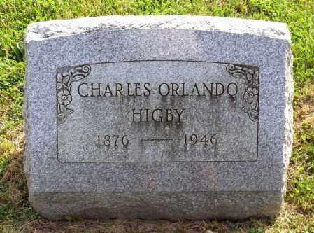 HIGBY, CHARLES ORLANDO - Ross County, Ohio | CHARLES ORLANDO HIGBY - Ohio Gravestone Photos