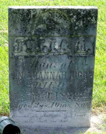 HIGBY, JULIA A. - Ross County, Ohio | JULIA A. HIGBY - Ohio Gravestone Photos