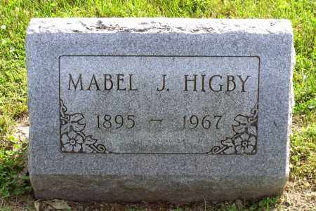 CLAYTOR HIGBY, MABEL JEAN - Ross County, Ohio | MABEL JEAN CLAYTOR HIGBY - Ohio Gravestone Photos