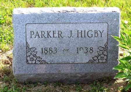 HIGBY, PARKER JOHNSON - Ross County, Ohio | PARKER JOHNSON HIGBY - Ohio Gravestone Photos