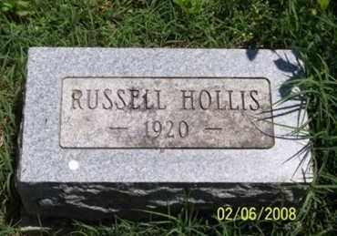 HOLLIS, RUSSELL - Ross County, Ohio | RUSSELL HOLLIS - Ohio Gravestone Photos