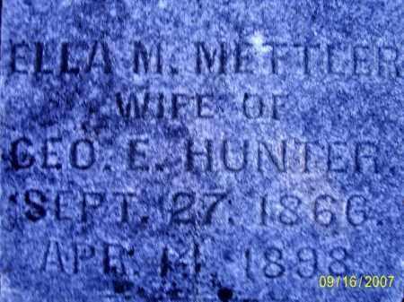 HUNTER, ELLA MAY - Ross County, Ohio | ELLA MAY HUNTER - Ohio Gravestone Photos