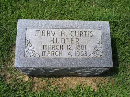 HUNTER, MARY A. - Ross County, Ohio | MARY A. HUNTER - Ohio Gravestone Photos